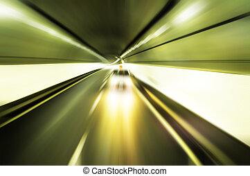Tunnel - drive too fast tunnel for transportation