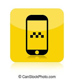 Taxi call icon