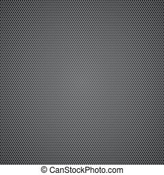Black dotted metal sheet