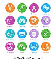 Medicine icons | METRO series