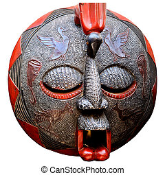 African Art Mask - Mask from Ghana Africa