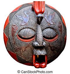 African Art Mask - Mask from Ghana Africa