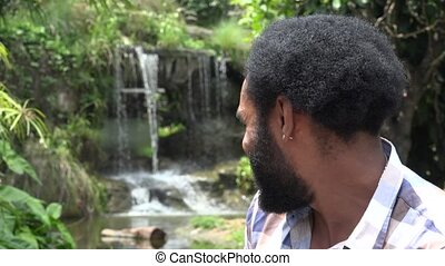 African Man with Beard