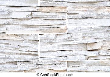 白色, 磚, 石頭, 外部, 內部, 裝飾, 建築物,...