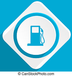 petrol blue flat design modern icon for web and mobile app