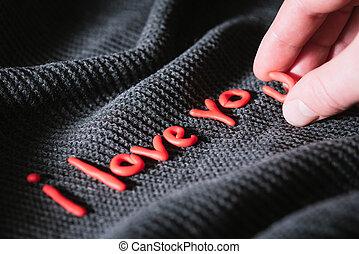 Phrase I love you