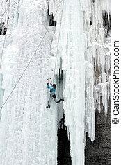 Ice climbing the North Caucasus