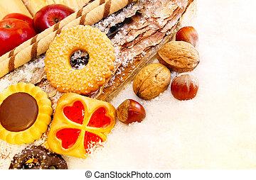 Christmas cookies, christmas bakery