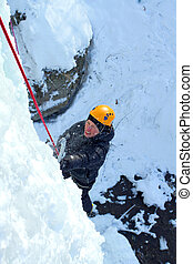 Ice climbing the North Caucasus