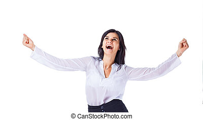 successful business woman - Young, attractive, successful...