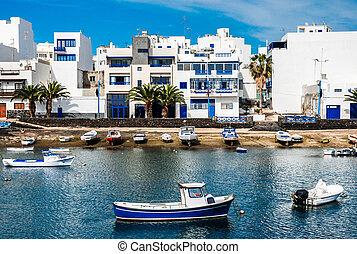 Charco de San Gines, Arrecife, Lanzarote, Canary Islands -...