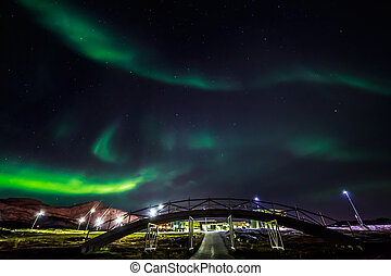 Greenlandic Northern lights - Greenlandic northern lights,...