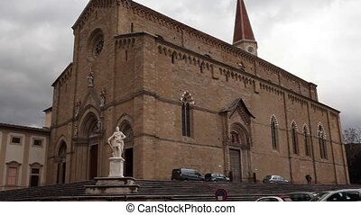 Cathedral Of Arezzo Italy - Video clip of the Arezzo...