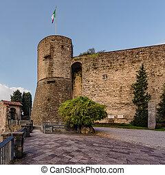 Castle La Rocca - The castle La Rocca of Bergamo is located...