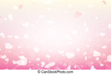 Happy valentine day background, Blur and Select focus background