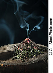 The dry herbal tea - The gorka of dry flower or herbal tea...