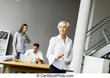 People in the office
