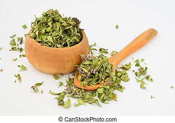 Dessicated Wild Thyme - Aromatic dessicated Wild Thyme in...