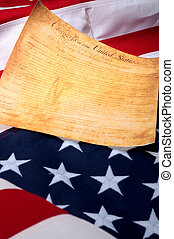 Vertical image of the the first page of the US Bill or...
