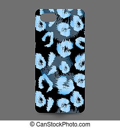 Phone cover collection Decorative element - Leopard print...