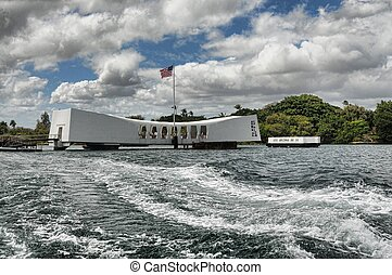 USS Arizona Memorial - Battleship Arizona war Memorial