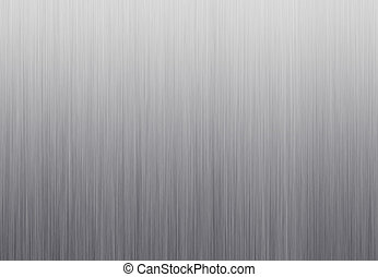 Metal texture neutral background with brushed chrome surface