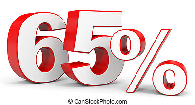 Discount 65 percent off 3D illustration