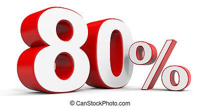 Discount 80 percent off 3D illustration
