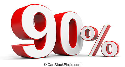 Discount 90 percent off 3D illustration