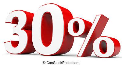Discount 30 percent off 3D illustration