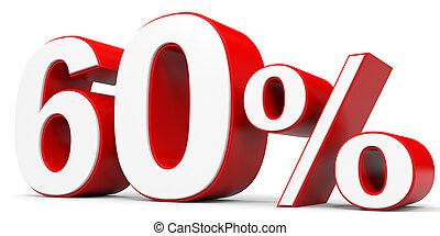 Discount 60 percent off 3D illustration