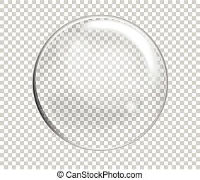 Vector Soap Water Bubble