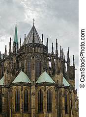 St Vitus Cathedral, Prague - The Metropolitan Cathedral of...