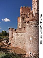 La Mota castle, Spain
