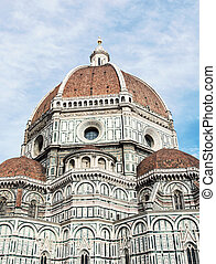 Beautiful Florence cathedral Santa Maria del Fiore, Italy,...