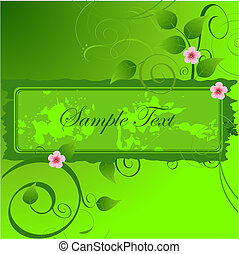 Spring Floral banner