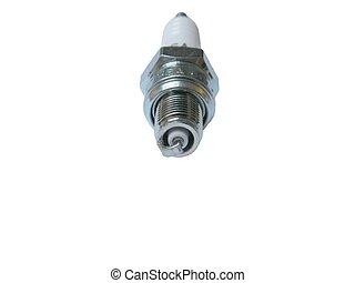 Spark-Plug over white