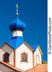 wooden Orthodox church of Saint James, Losinka, Podlaskie...