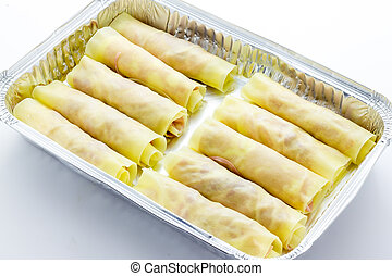 Cooking baked cannelloni