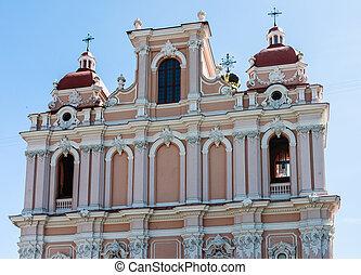 Vilnius. Catholic church of St. Casimir