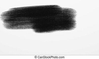 Black and white artistic background - White background...