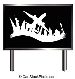 historic monument vector in white color