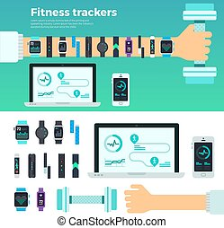 Fitness Trackers Virtual Coach Gadgets