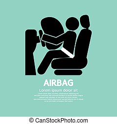 Airbag Car Safety Equipment.
