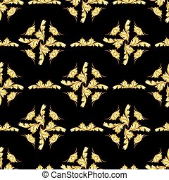 Pattern - Gorizontal pattern in the form of abstraction on a...
