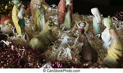 Christmas scene of Christ's life