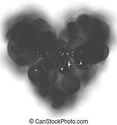 LOVELESS HEART - An abstract illustration of love this...