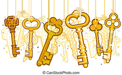 Gold Keys On Strings