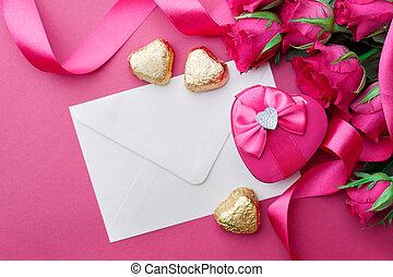 casório, fundo, Dia,  valentines
