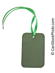 green tally - a green tally is isolated on a white...